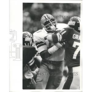 1973 Press Photo Harvey Martin NFL Defensive End Dallas - RRQ67513