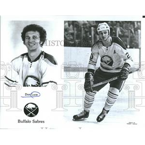 1975 Press Photo Don Luce of the Buffalo Sabres - RRQ56117