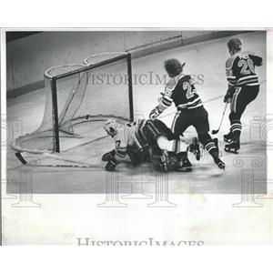 1979 Press Photo Colorado Rockies Oilers Delorme Ramage - RRQ56791