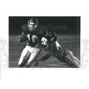 1992 Press Photo Newport High Quarterback Tom Wagner - RRQ66637
