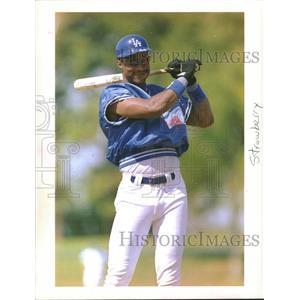 1995 Press Photo Baseball Daryl Strawberry - RRQ29951