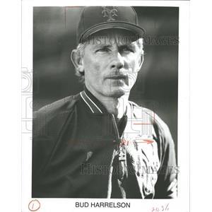 Press Photo Bud Harrelson New York Mets Baseball - RRQ39421