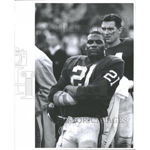 Press Photo Mike Garrett Football Kansas City Chiefs - RRQ39663