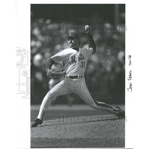 Press Photo New York Mets Franco Pitching - RRQ40383
