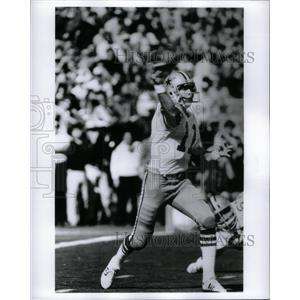 Press Photo Danny White Quarterback Punter Cowboys - RRQ43191
