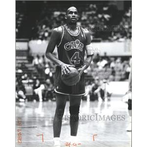 Press Photo Ron Harper Cleveland Cavaliers Basketball - RRQ62347