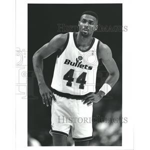 Press Photo Washington Bullets Harvey Grant NBA - RRQ62387