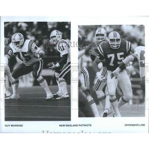 Press Photo The New England Patriots Football Team - RRQ66233
