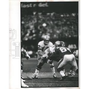 Press photo Larry Craig Morton Flint Dallas Cowboys MI - RRQ67723