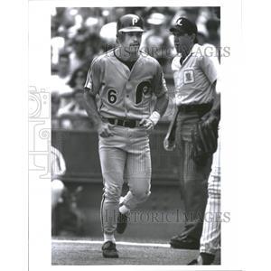 Press Photo Wally Backman Major League Baseball New York Mets Buffalo Bisons