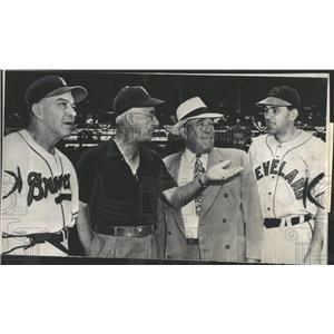 1949 Press Photo Billy Southworth Boston Braves Baseball Team Manager