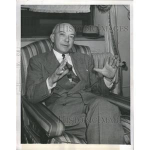 1949 Press Photo New Boston Braves Manager Dapper Billy The Kid Southworth