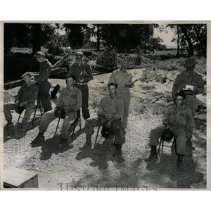 1946 Press Photo Camp Carson Harvard Physical Testing - RRX76357