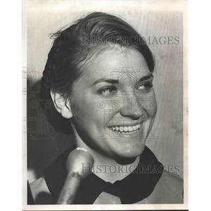 1964 Press Photo Mrs. Foster Jordan, Airline Stewardess of Birmingham plane