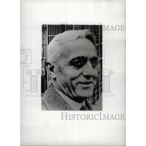 1935 Press Photo John J Ryan Warden Federal Mich Milan - RRW97211