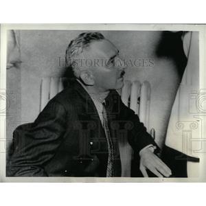 1936 Press Photo Washington John Farnsworth Navy Spy