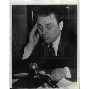 1942 Press Photo Leon Henderson Baltimore Health OPA - RRW17195
