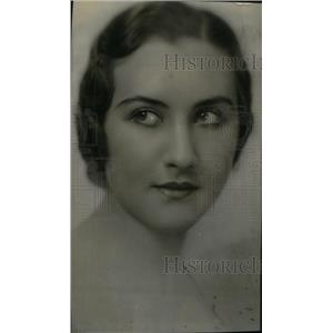 1932 Press Photo Miss Attractive Coed Ogara - RRX46365