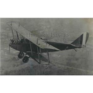 1975 Press Photo Biplane used in original flight by Glenn Messer in Birmingham
