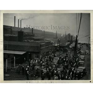 1937 Press Photo Indiana Harbor Nicholas Fontecchio - RRW65155