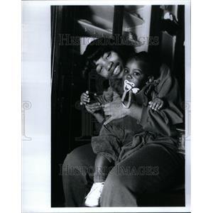 1991 Press Photo Juanita Smith Persian Gulf War - RRU63423
