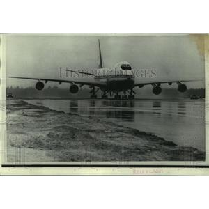 1969 Press Photo The world's largest commercial jetliner, the Boeing 747