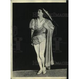 """1921 Press Photo John Barrymore as """"Romeo"""" at the Equity Show in New York"""