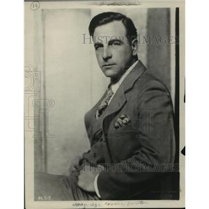 1927 Press Photo Milton Sills, actor