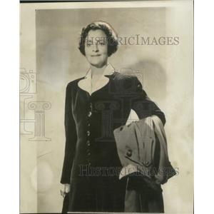 "1940 Press Photo Elsie Janis famed ""sweetheart of the AEF""."