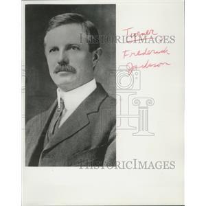 1892 Press Photo Frederick Jackson Turner, American Historian from Wisconsin