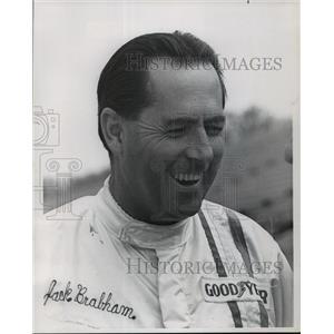 1969 Press Photo Race car driver, Jack Brabham