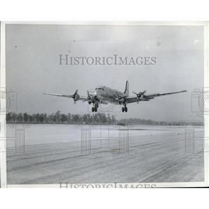 1946 Press Photo United States Army Transport plane during flight