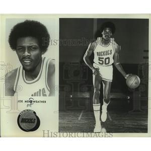Press Photo Houston Rockets basketball player Joe Meriweather - sas14841