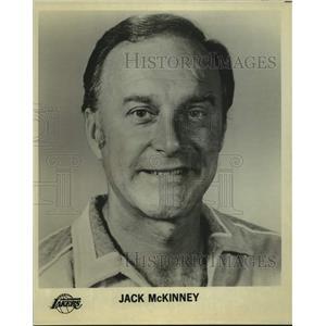 Press Photo Los Angeles Lakers basketball coach Jack McKinney - sas14130