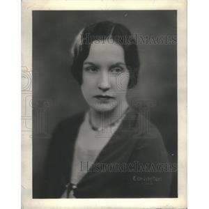 1930 Press Photo Mrs. Charles J. Gilchrest Nee Patricia Lawton