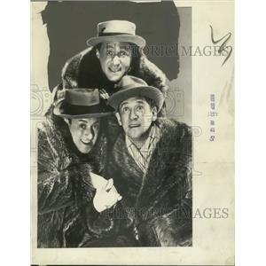 1937 Press Photo The Ritz Brothers musical comedy trio - mjp32741