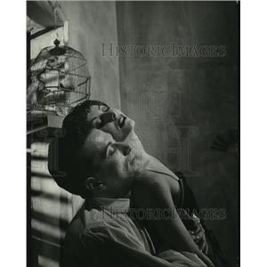 "1949 Press Photo Ronald Petit & Renee Jeanmaire in ""Carmen"" - mjp36095"