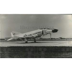 1966 Press Photo American Phantom Jet of the U.S Air Force - lrx02581