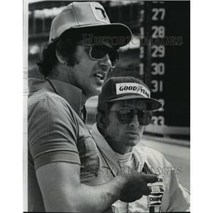 1978 Press Photo Race car drivers, Sheldon Kinser and Tom Bagley - mjt03737