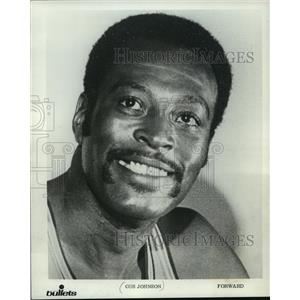 1970 Press Photo Baltimore Bullets basketball player, Gus Johnson - mjt03952