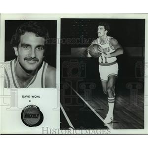Press Photo Houston Rockets basketball player Dave Wohl - sas16186