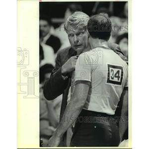 1991 Press Photo Golden State Warriors basketball coach Don Nelson - sas15284