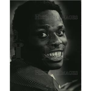 1971 Press Photo John Brockington, running back for the Green Bay Packers.