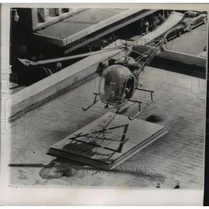 1954 Press Photo new landing field being demonstrated in Phoenix, Arizona