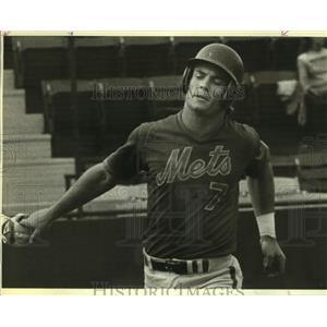 1983 Press Photo New York Mets baseball player John Gibbons - sas09687