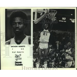 Press Photo Denver Nuggets basketball player Anthony Roberts - sas12929