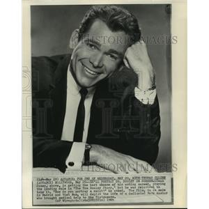"1964 Press Photo United States Actor Dean Jones in ""The Tom Dooley Story"""