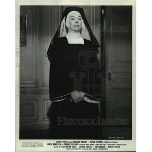 1968 Press Photo Rosalind Russell stars in Where Angels Go. - mjp40833