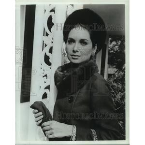 1969 Press Photo Suzanne Pleshette in a scene from The Birds. - mjp42236