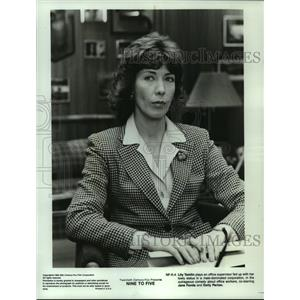 """1980 Press Photo Actress Lily Tomlin in the Motion Picture """"Nine to Five"""""""